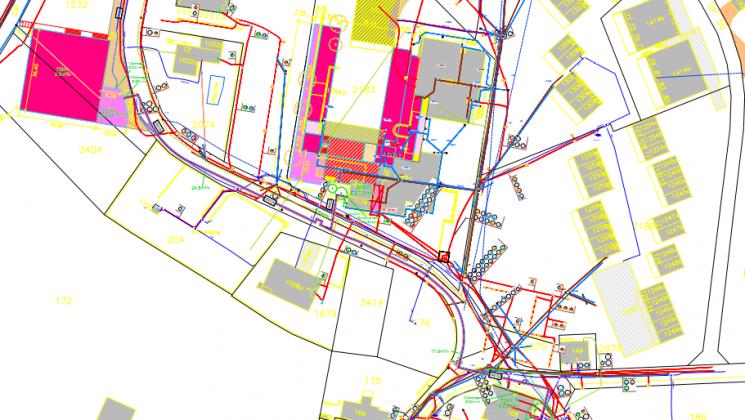 réseau CAD