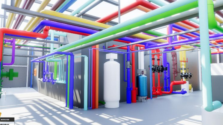 REVIT BIM CVSE HVAC azingénieurs